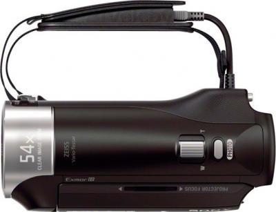 Видеокамера Sony HDR-PJ240E (черный) - вид сверху