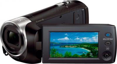 Видеокамера Sony HDR-PJ240E (черный) - дисплей