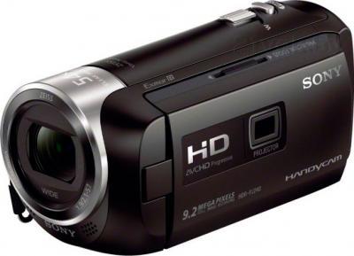 Видеокамера Sony HDR-PJ240E (черный) - общий вид