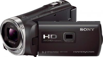 Видеокамера Sony HDR-PJ330E (Black) - общий вид
