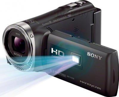 Видеокамера Sony HDR-PJ330E (Black) - проектор