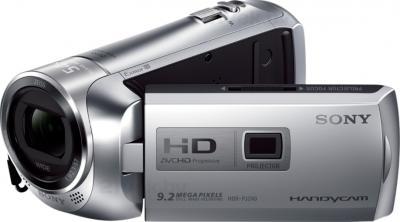Видеокамера Sony HDR-PJ240E (серебристый) - общий вид