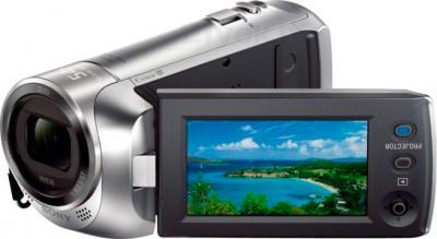 Видеокамера Sony HDR-PJ240E (серебристый) - дисплей
