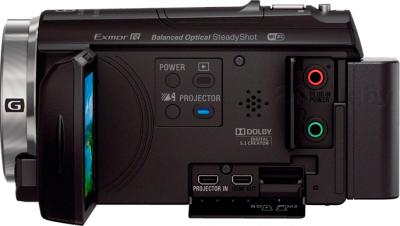 Видеокамера Sony HDR-PJ530E (Black) - вид сбоку