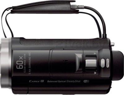 Видеокамера Sony HDR-PJ530E (Black) - вид сверху