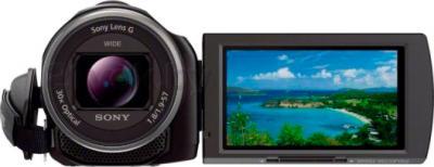 Видеокамера Sony HDR-PJ530E (Black) - фронтальный вид