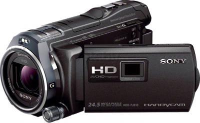 Видеокамера Sony HDR-PJ810E (черный) - общий вид