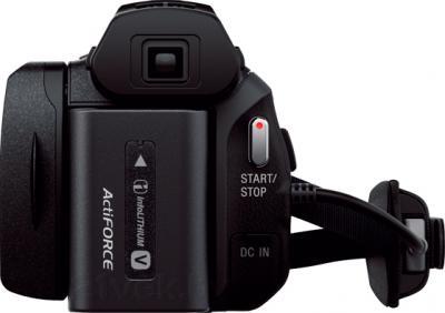 Видеокамера Sony HDR-PJ810E (черный) - вид сзади