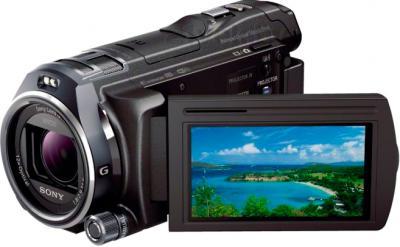 Видеокамера Sony HDR-PJ810E (черный) - дисплей