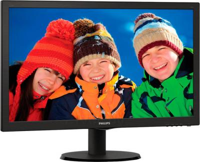 Монитор Philips 223V5LSB2/62 - вид сбоку