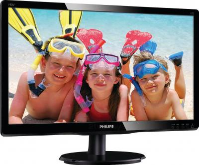 Монитор Philips 190V4LSB2/62 - вид сбоку