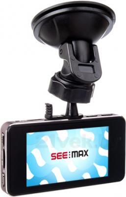 Автомобильный видеорегистратор SeeMax DVR RG 520 GPS (Black) - с креплением