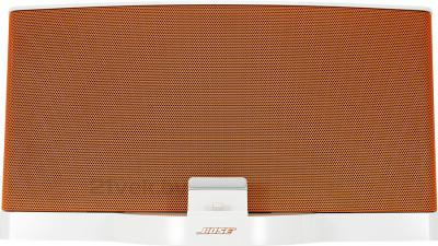 Мультимедийная док-станция Bose SoundDock III Digital Music System (White-Orange) - вид спереди