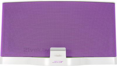 Мультимедийная док-станция Bose SoundDock III Digital Music System (White-Purple) - вид спереди