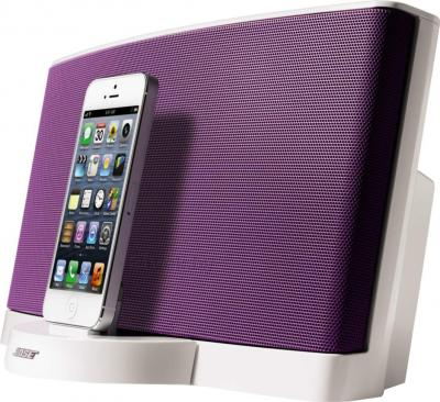 Мультимедийная док-станция Bose SoundDock III Digital Music System (White-Purple) - вид сбоку