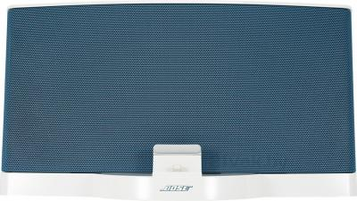 Мультимедийная док-станция Bose SoundDock III Digital Music System (White-Blue) - вид спереди