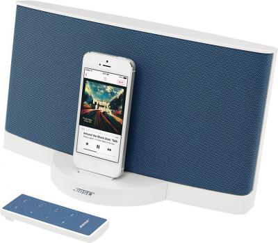 Мультимедийная док-станция Bose SoundDock III Digital Music System (White-Blue) - вид сбоку