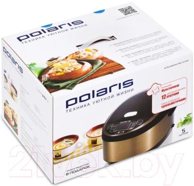 Мультиварка Polaris PMC 0514AD (черно-коричневый) - коробка