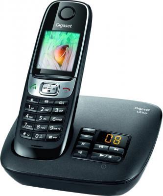 Беспроводной телефон Gigaset C620A (Black) - общий вид