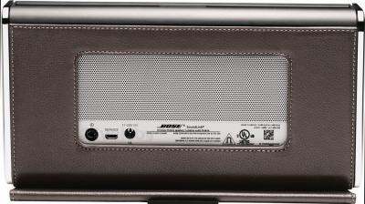Портативная колонка Bose SoundLink Bluetooth speaker II (Leather, Dark Brown) - вид сзади