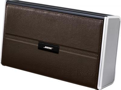 Портативная колонка Bose SoundLink Bluetooth speaker II (Leather, Dark Brown) - вид сбоку