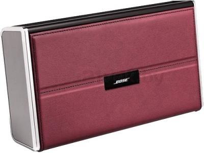 Чехол для акустической системы Bose SoundLink Bluetooth speaker cover (Red, Leather) - общий вид