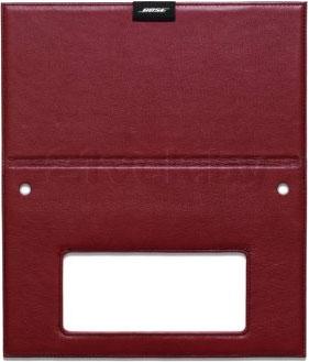 Чехол для акустической системы Bose SoundLink Bluetooth speaker cover (Red, Leather) - в раскрытом виде
