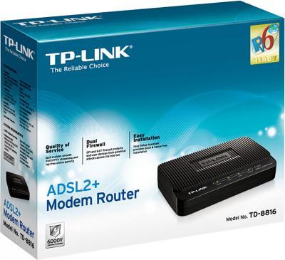 Маршрутизатор/DSL-модем TP-Link TD-8816 - упаковка
