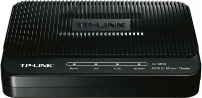 Маршрутизатор/DSL-модем TP-Link TD-8816 - вид спереди