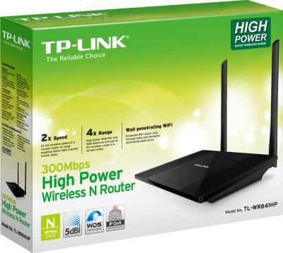 Беспроводной маршрутизатор TP-Link TL-WR841HP - коробка
