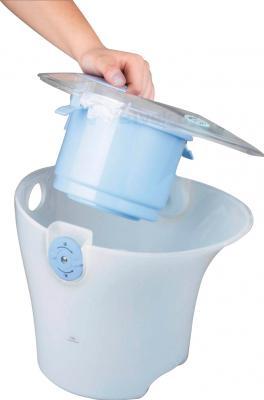 Пылесос DeLonghi WFF 1600E (Blue) - контейнер
