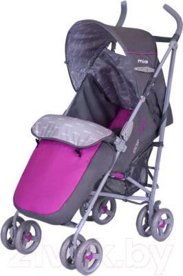 Детская прогулочная коляска EasyGo Milo (Magenta) - общий вид