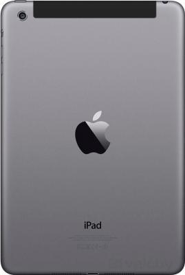 Планшет Apple iPad mini 32GB 4G / ME820TU/A (серый) - вид сзади