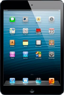 Планшет Apple iPad mini 16GB Black (MF432TU/A) - фронтальный вид