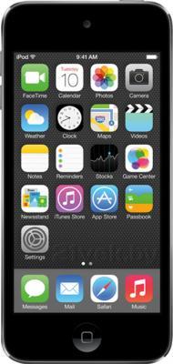 MP3-плеер Apple iPod Touch 16 Gb ME643RP/A (черно-серебристый) - фронтальный вид
