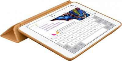 Чехол для планшета Apple iPad Air Smart Case MF047ZM/A (Brown) - в раскрытом виде