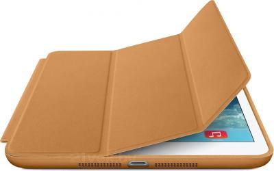 Чехол для планшета Apple iPad Air Smart Case MF047ZM/A (Brown) - с белым айпадом