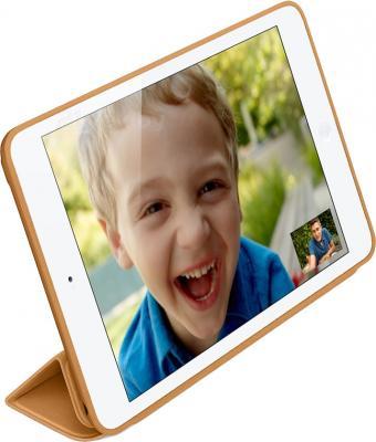 Чехол для планшета Apple iPad Air Smart Case MF047ZM/A (Brown) - вполоборота