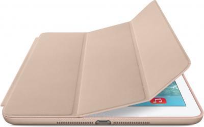 Чехол для планшета Apple iPad Air Smart Case MF048ZM/A (Beige) - с белым айпадом