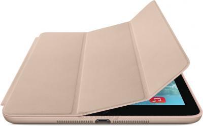 Чехол для планшета Apple iPad Air Smart Case MF048ZM/A (Beige) - с черным айпадом