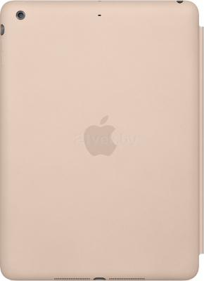 Чехол для планшета Apple iPad Air Smart Case MF048ZM/A (Beige) - вид сзади