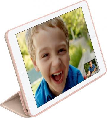 Чехол для планшета Apple iPad Air Smart Case MF048ZM/A (Beige) - вполоборота
