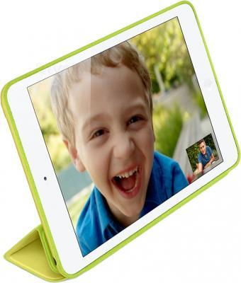 Чехол для планшета Apple iPad Air Smart Case MF049ZM/A (Yellow) - вполоборота