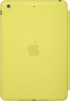 Чехол для планшета Apple iPad Air Smart Case MF049ZM/A (Yellow) - вид сзади