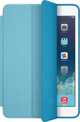 Чехол для планшета Apple iPad Air Smart Case MF050ZM/A (Blue) - общий вид