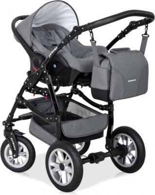 Автокресло Riko Primo (Gray Fox) - кресло на коляске (цвет Carbon)