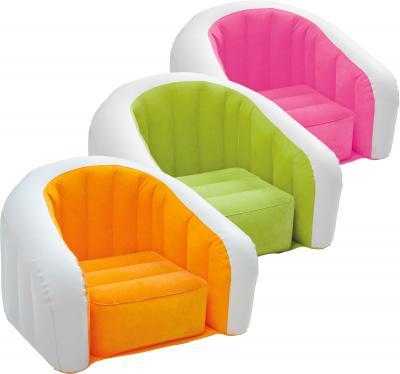 Надувное кресло Intex 68597NP - варианты расцветки