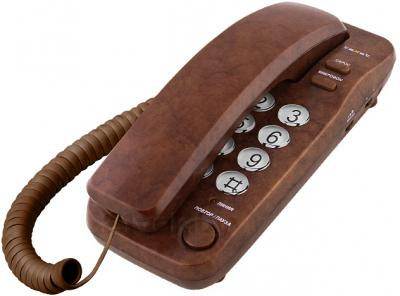 Проводной телефон TeXet TX-226 (Brown) - общий вид