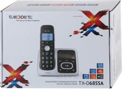 Беспроводной телефон TeXet TX-D6855A - упаковка