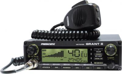 Радиостанция President Grant II ASC - с зеленой подсветкой